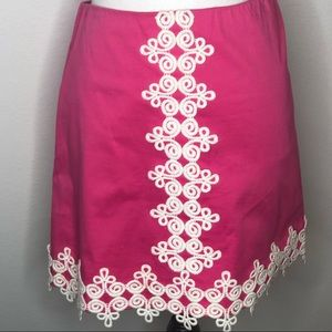 Lilly Pulitzer size 6 woman's skirt.  Pink/trim